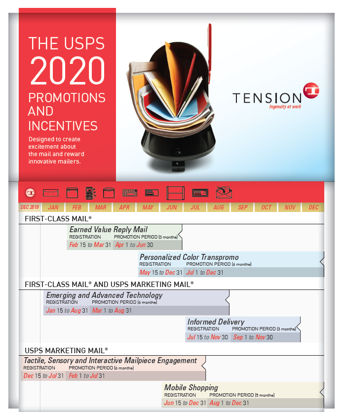 USPS 2020 Promotions Information Sheet
