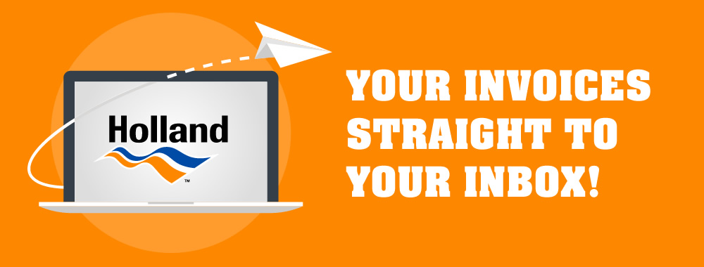 Holland | Your invoices straight to your inbox!