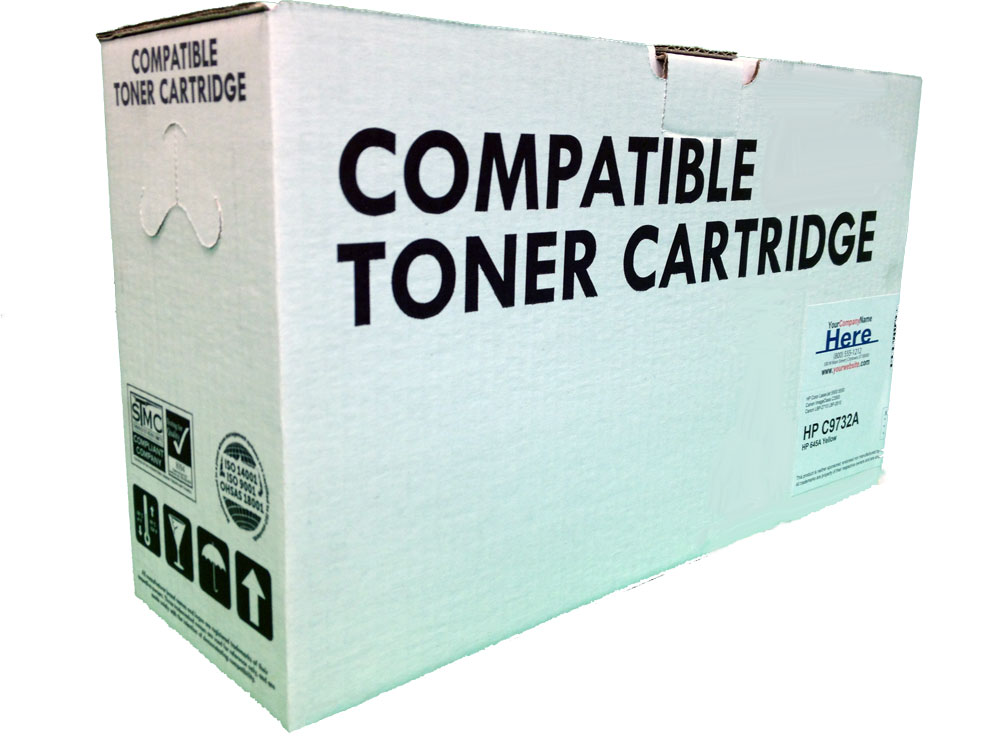 New Compatible Toner Cartridge Box Photo