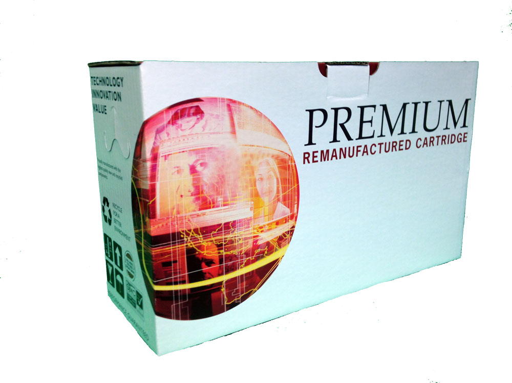 New Premium Remanufactured Toner Cartridge Box Photo