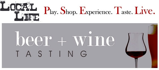 Local Life - Beer & Wine Tasting @ The Culinary Center