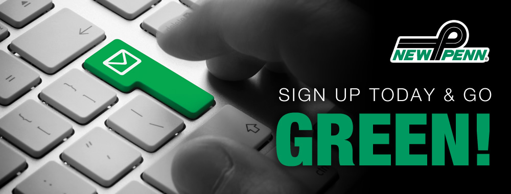 New Penn | Sign Up Today & Go Green!